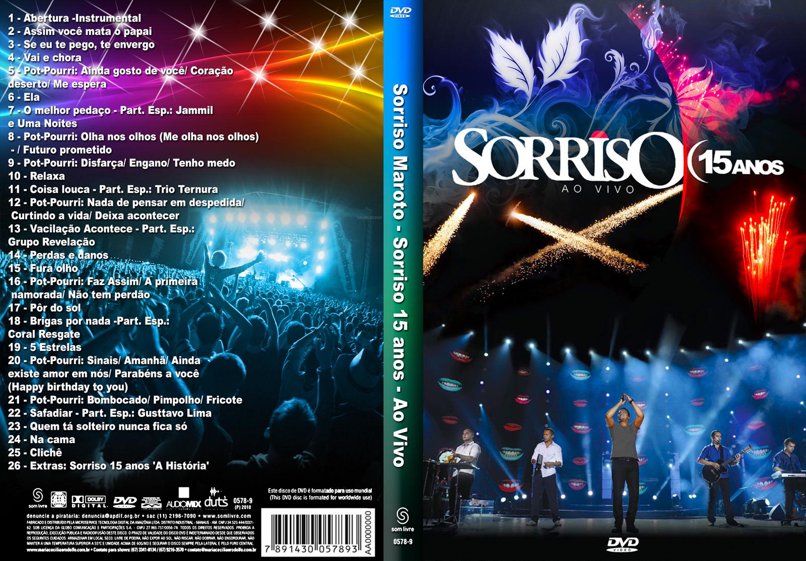 Dvd sorriso maroto por você ao vivo (2005) download pagodes.
