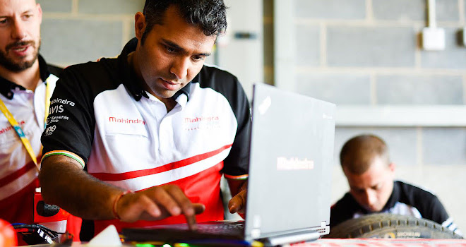 Mahindra Racing's Vinit Patel © Spacesuit Media