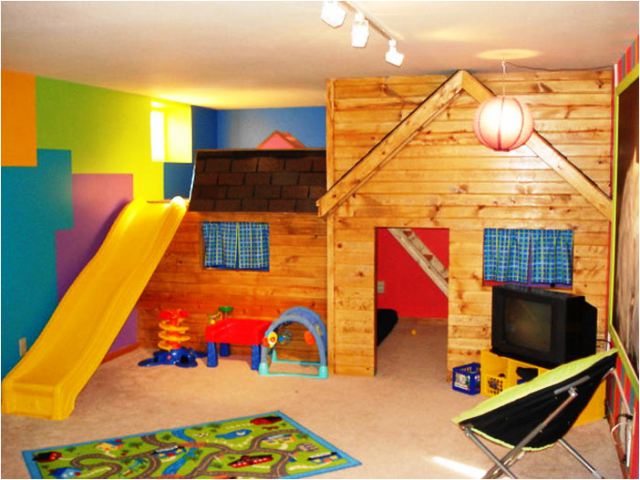 painting ideas for playrooms