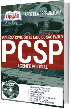 Apostila PC-SP 2018 Agente de Polícia
