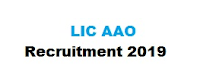 LIC AAO Recruitment 2019,LIC JOBS,LIC