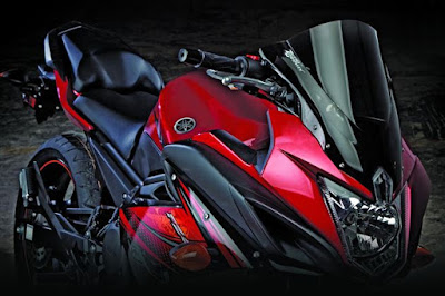 Upcoming Yamaha FZ6R  red image