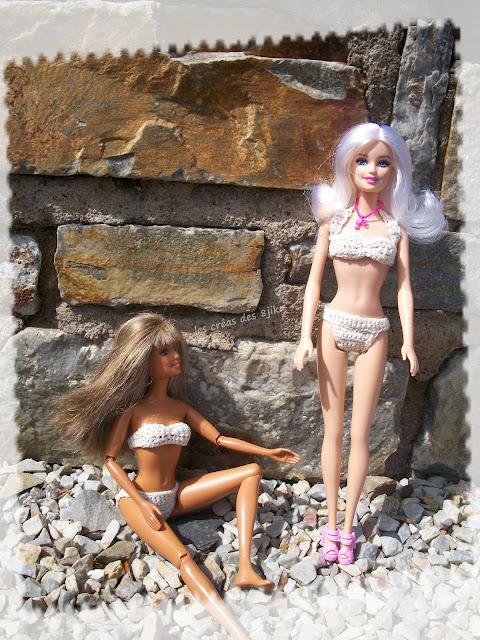 Maillot de bain de pièces pour Barbie