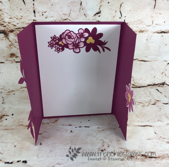 Bouquet Blooms, Gatefold Blossoms Framelits, Frenchie Stamps, Stampin'Up!,
