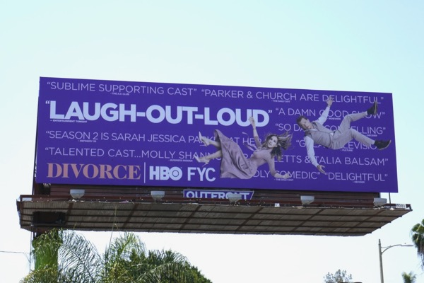 Divorce season 2 Emmy FYC billboard