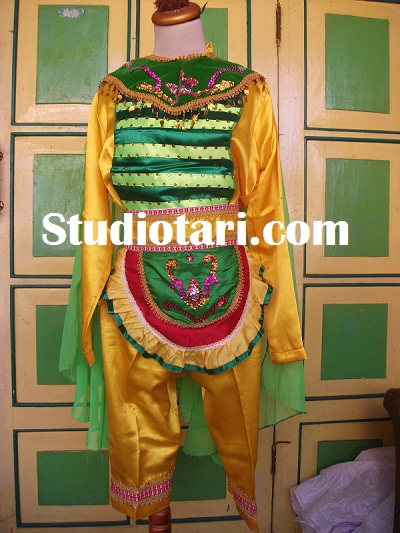 Kostum Tari Kupu Kupu : kostum, ROBBY, HIDAJAT:, Busana, Kupu-Kupu