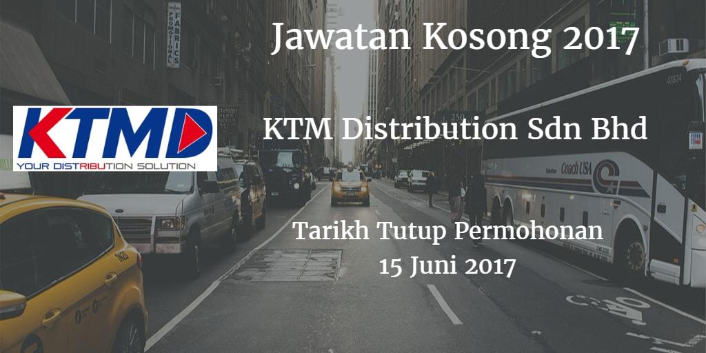 Jawatan Kosong KTMD 15 Juni 2017