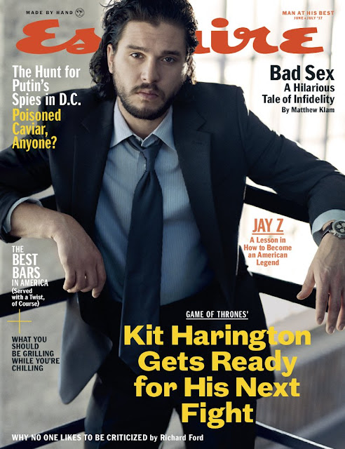 """Game Of Thrones"" Star Kit Harington Covers Latest Issue Of Esquire Magazine"