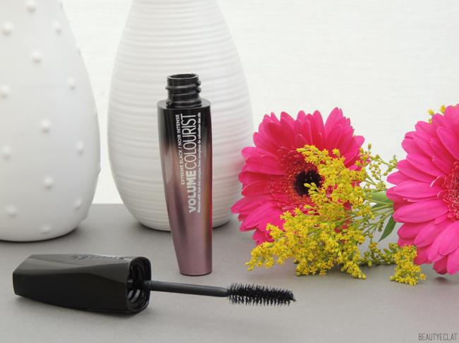 revue avis test rimmel mascara volume colourist avant apres