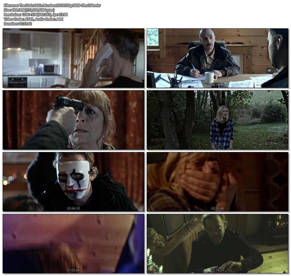 The Utah Cabin Murders 2019 720p WEB-DL x264 | 480p 300MB | 100MB HEVC Screenshot