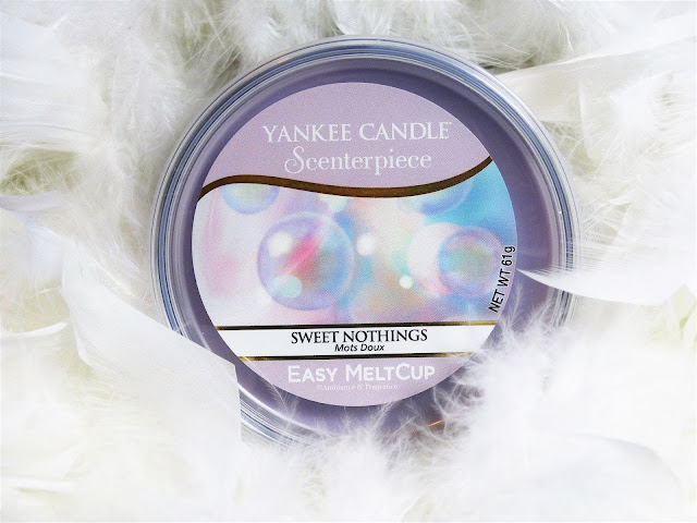 Avis Sweet Nothings (Mots doux) de Yankee Candle, blog bougie