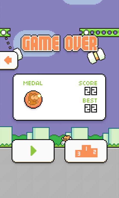 Game Lanjutan Flappy Bird di Play Store