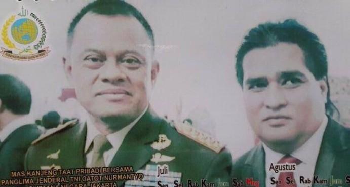 Beredar Foto Bersama Dimas Kanjeng, Ini Penjelasan Jenderal Gatot Nurmantyo
