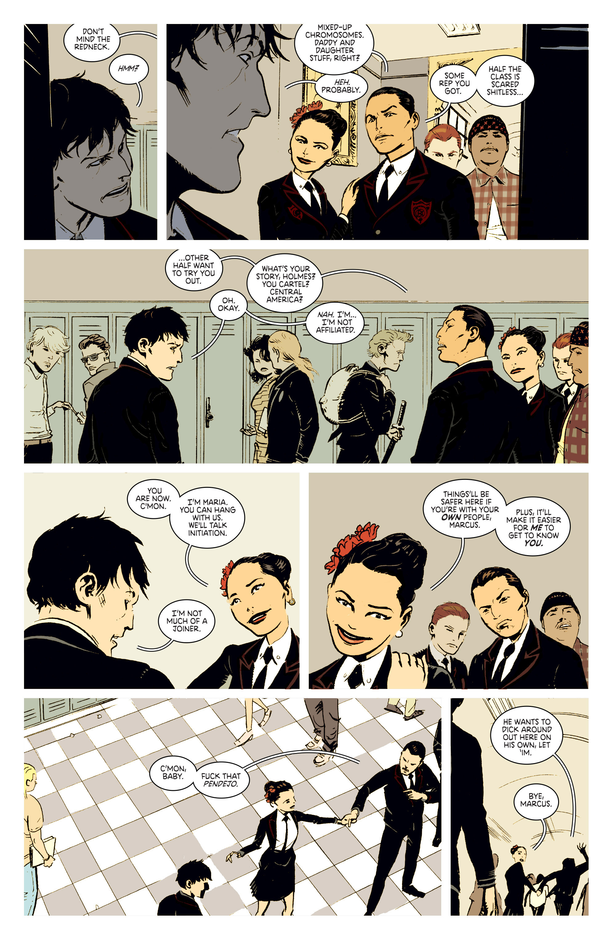 Read online Deadly Class comic -  Issue #2 - 9