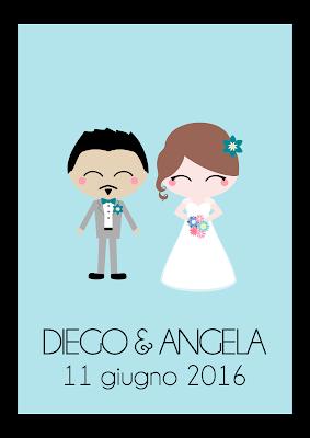 ritratto personalizzato sposi matrimonio