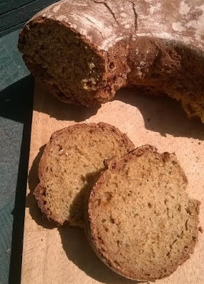honey, caraway & beer bread - an easy wholemeal soda bread recipe
