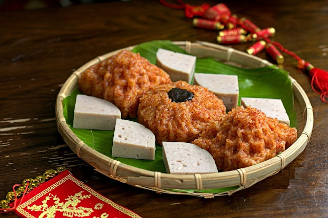 Red sticky rice- Xôi Gấc- An Essence of Vietnamese Tet 3
