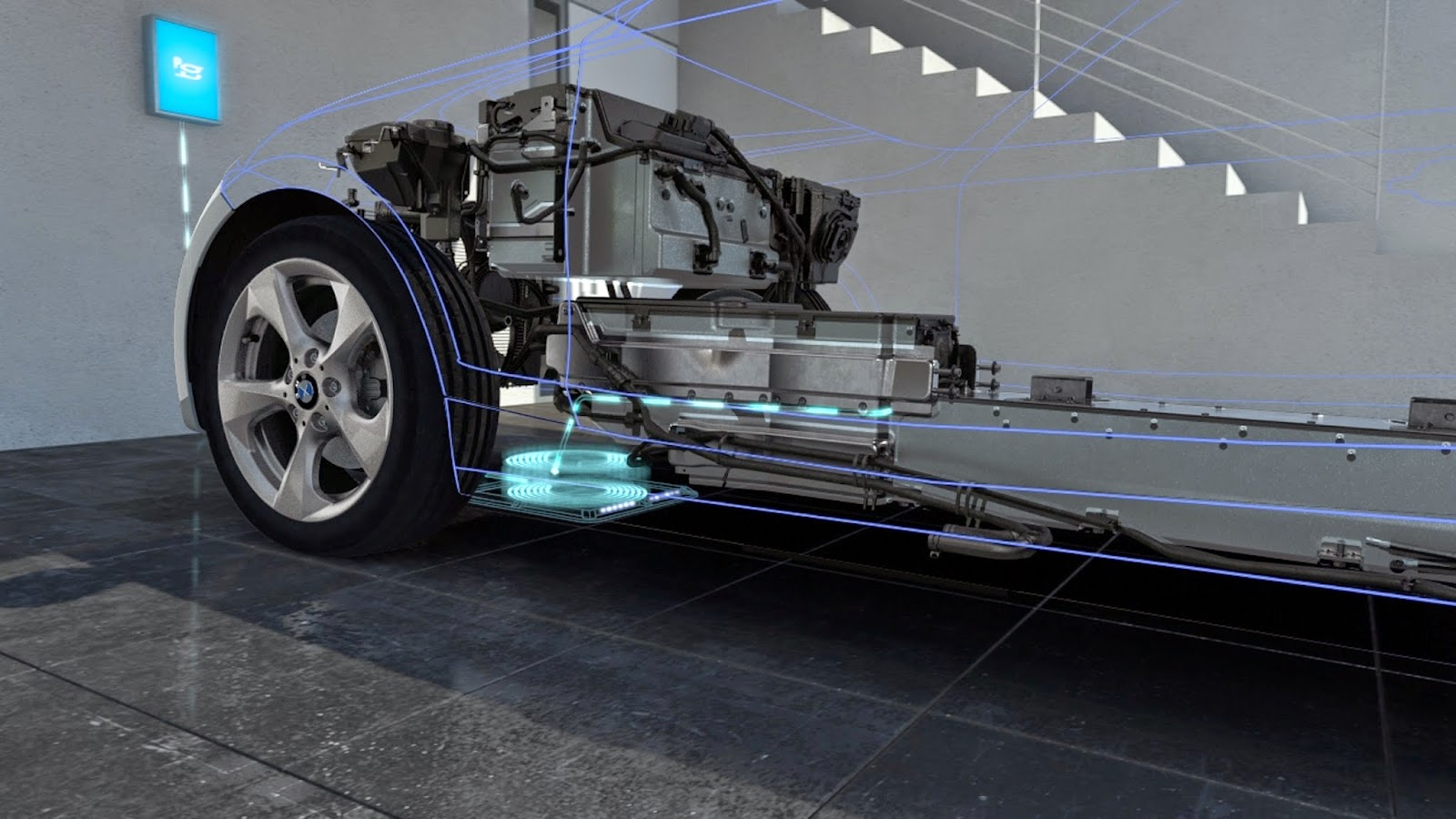 Bmw Daimler Jointly Developing Wireless Inductive Charging Standard