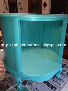 Pink. Cricut. Love.: Thrift Store End Table Turned Into A ...