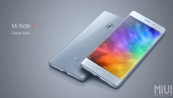 شاومي تعلن رسميا عن هاتفها الجديد Xiaomi Mi Note 2 .. بمواصفات راقية