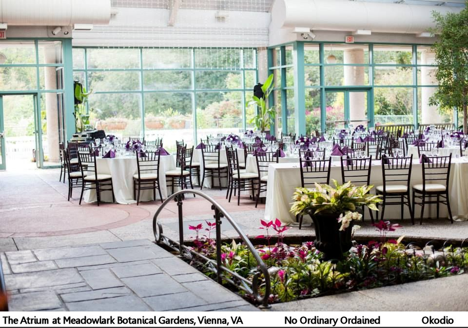 Venue Atrium At Meadowlark Botanical Gardens