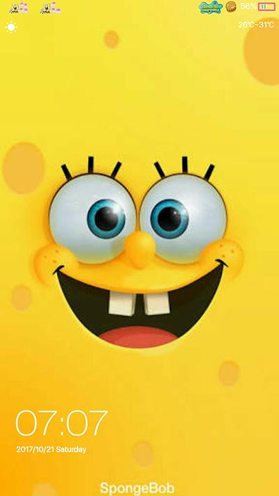 Oppo Theme: Oppo F3 F3 Plus Spongebob Theme