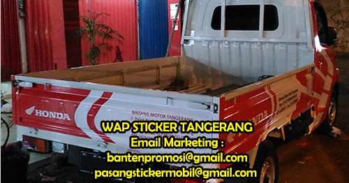 Stiker Grand Max Pick Up >> Pasang Stiker Mobil Jakarta: Sticker Branding Mobil Pick Up