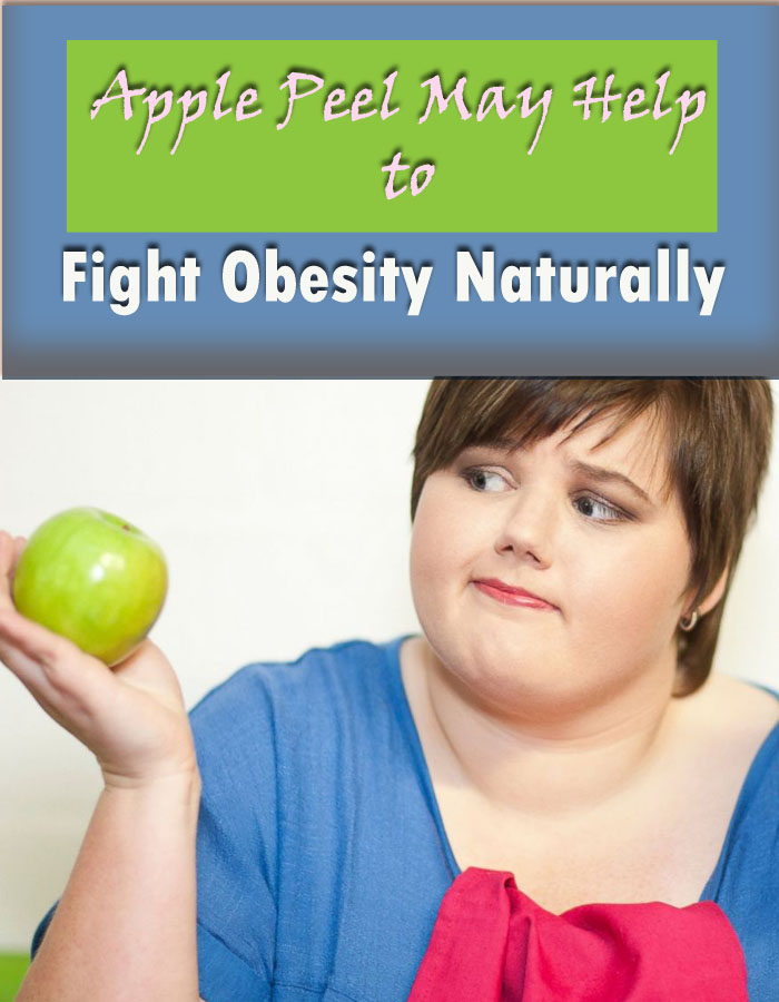 Apple Peel May Help to Fight Obesity Naturally