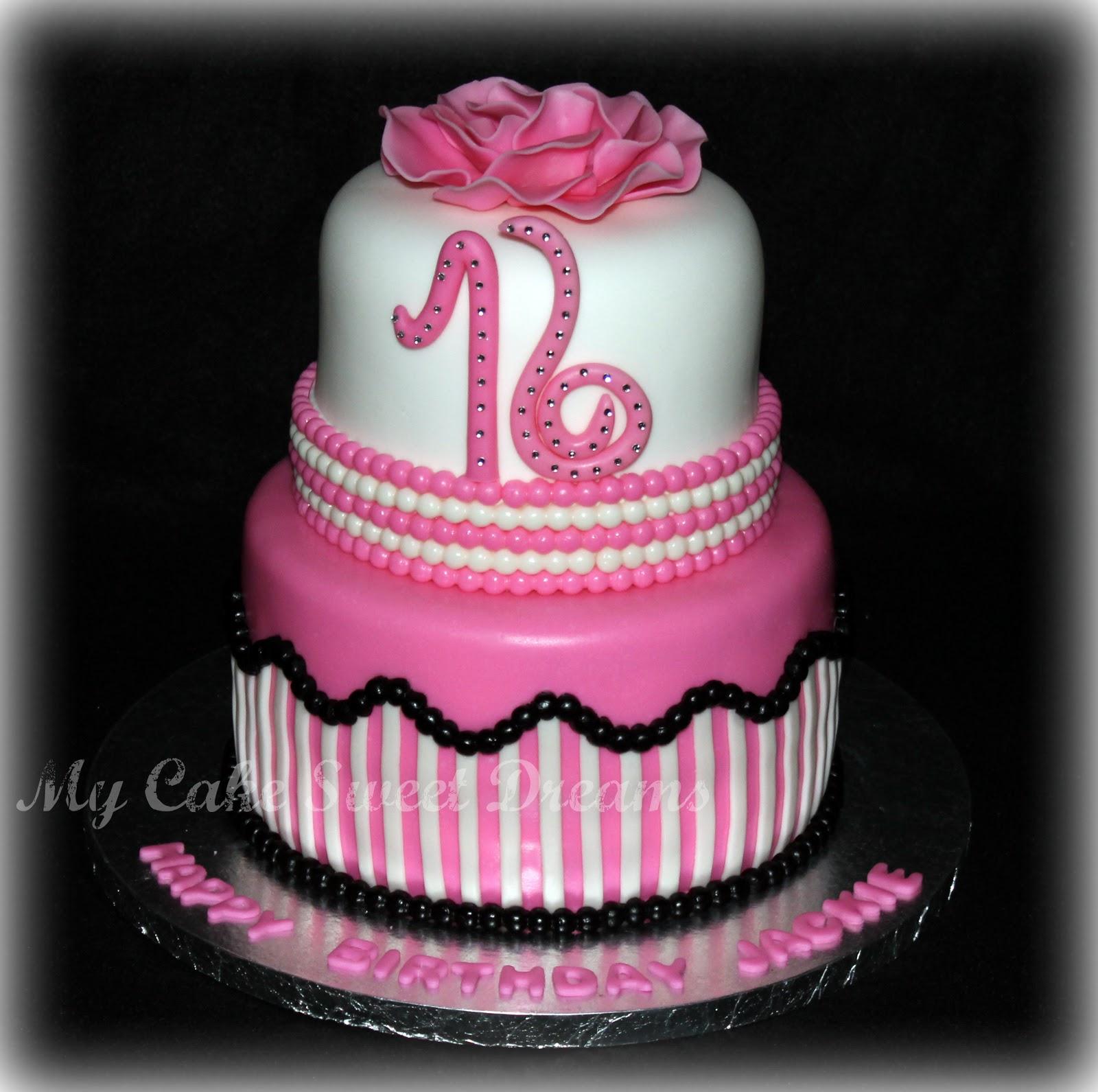 Sweet Sixteen Birthday Cake Recipes