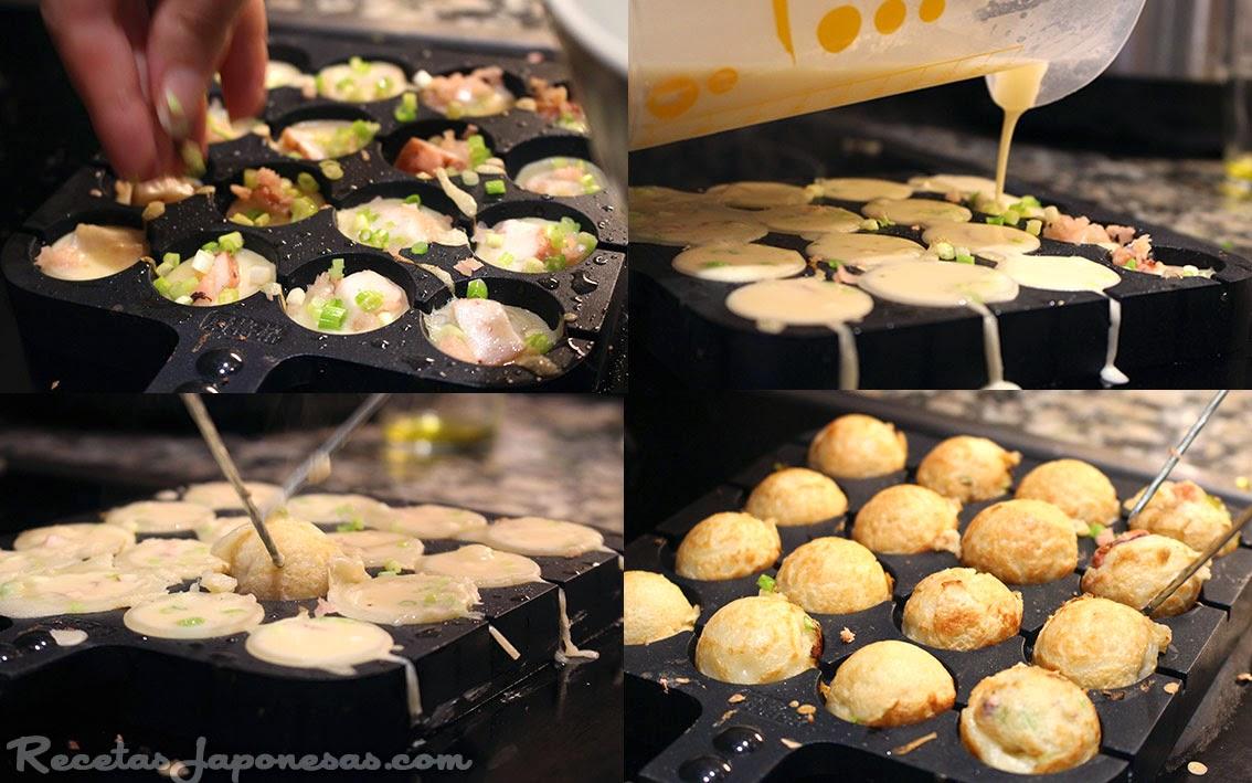 Takoyaki  Recetas Japonesas en espaol