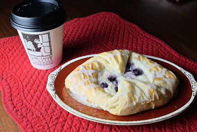 Blueberry Danish: photo by Cliff Hutson