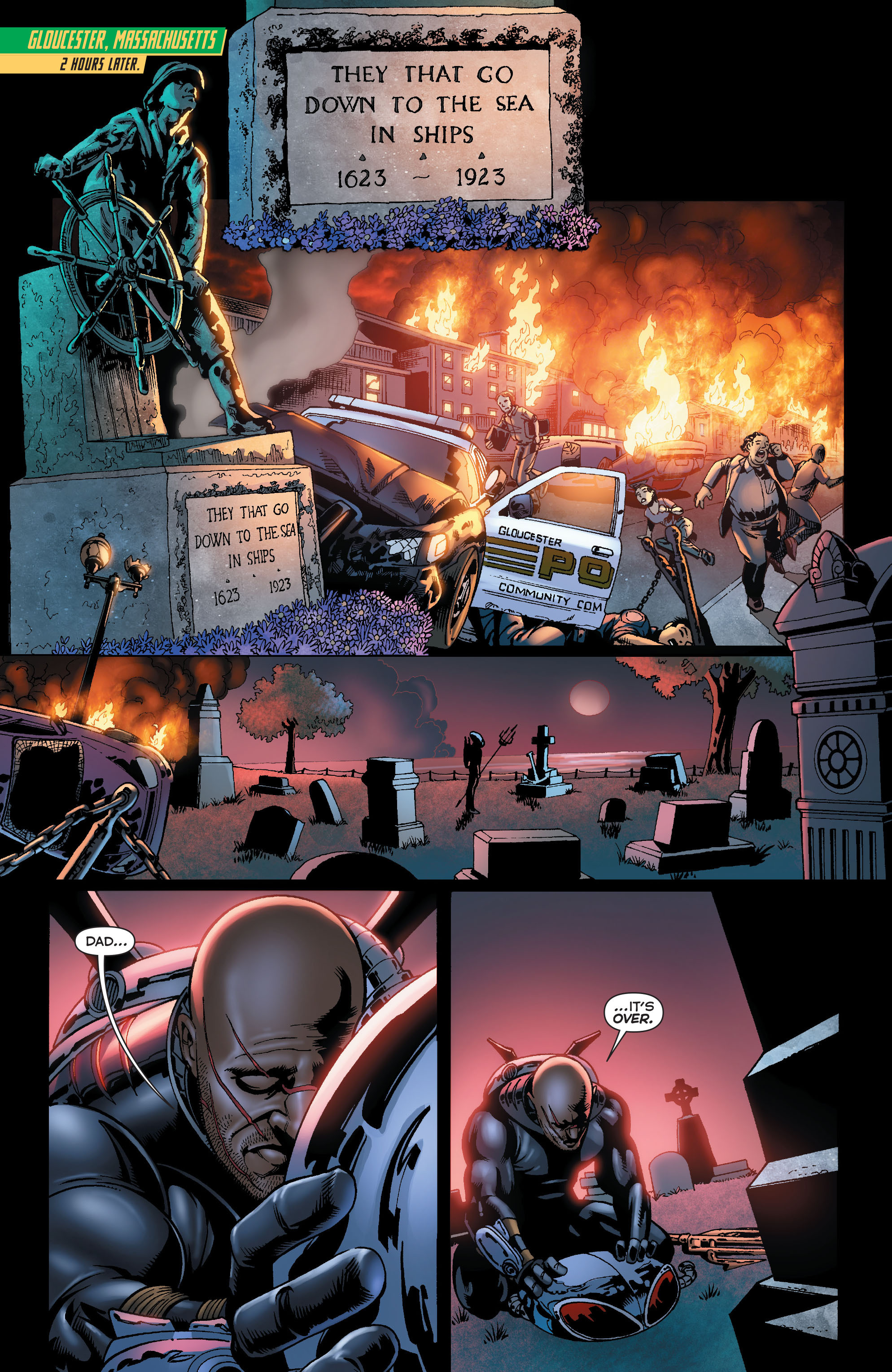 Read online Aquaman (2011) comic -  Issue #23.1 - 14