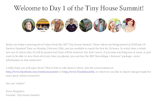 Steve Hargadon Tiny House Summit Day 1 Videos Are Live Watch