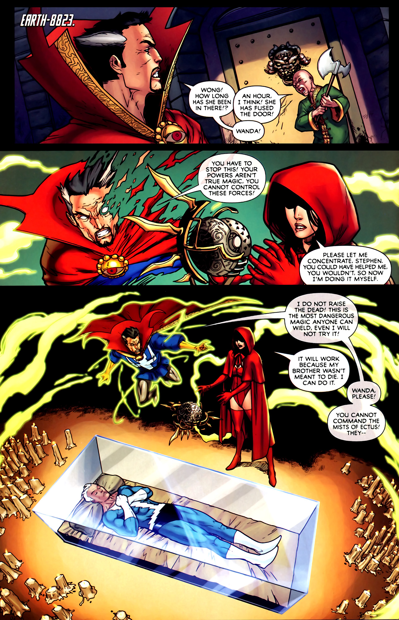 Read online Exiles (2009) comic -  Issue #1 - 12