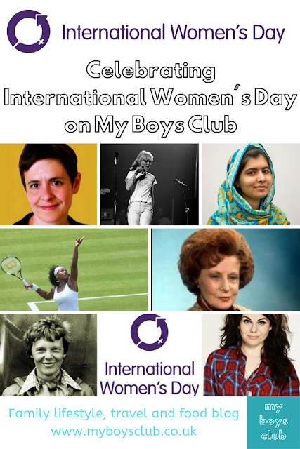 Celebrating International Women's Day on My Boys Club