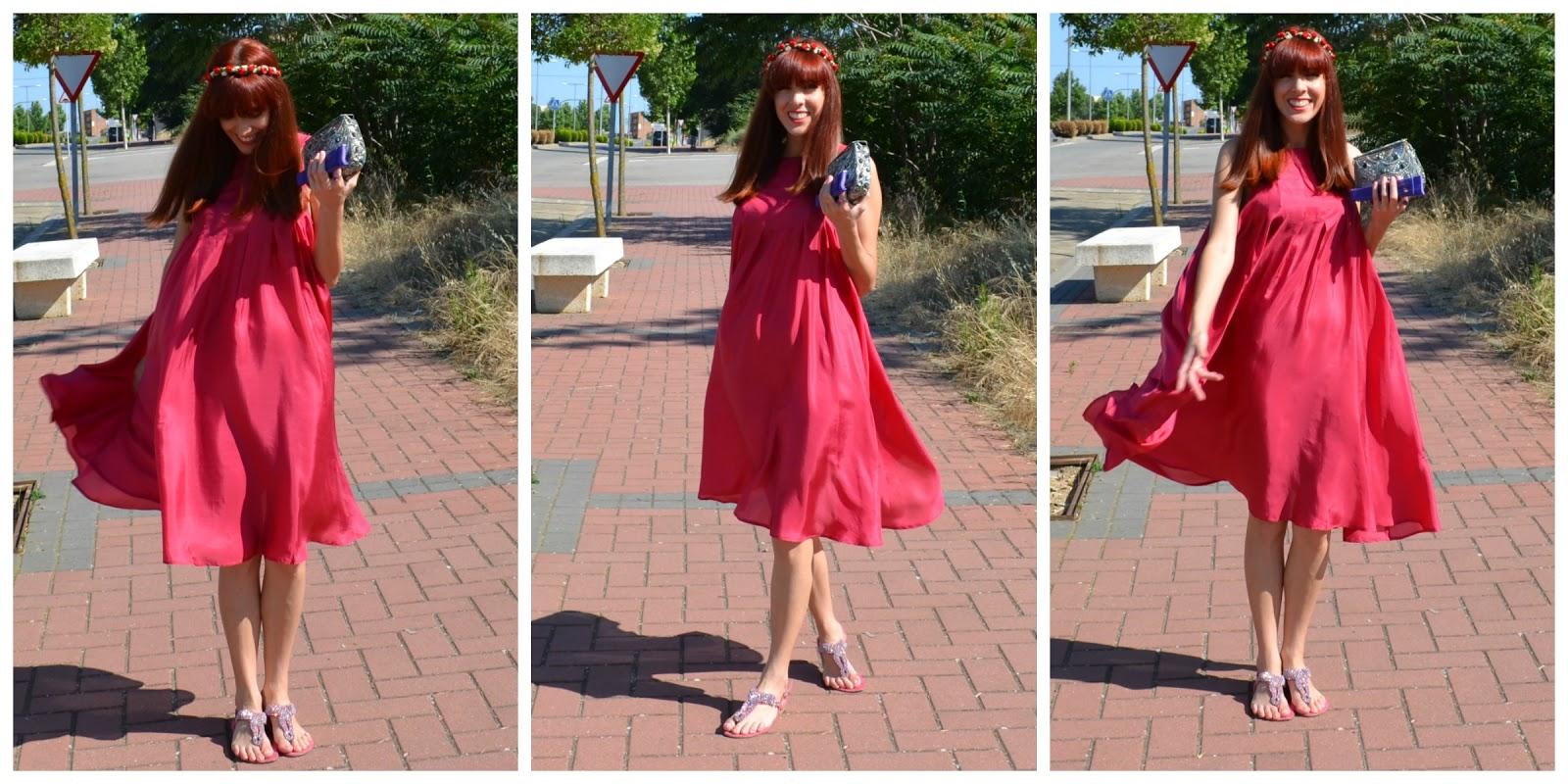 Vistoso Boda Vestido Rojo Galería - Ideas de los Estilos del Vestido ...