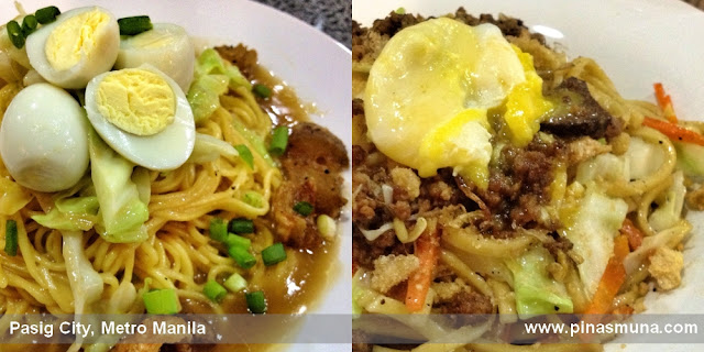 Pancit Center's Pancit Cabagan and Pancit Batil-Patong