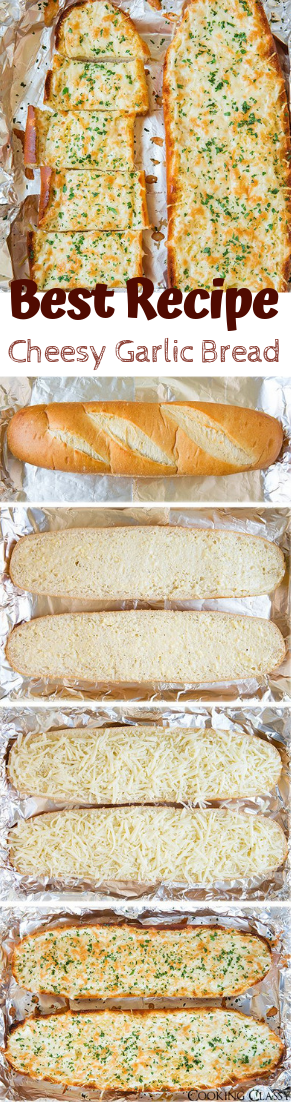 Cheesy Garlic Bread #healthyfood #dietketo