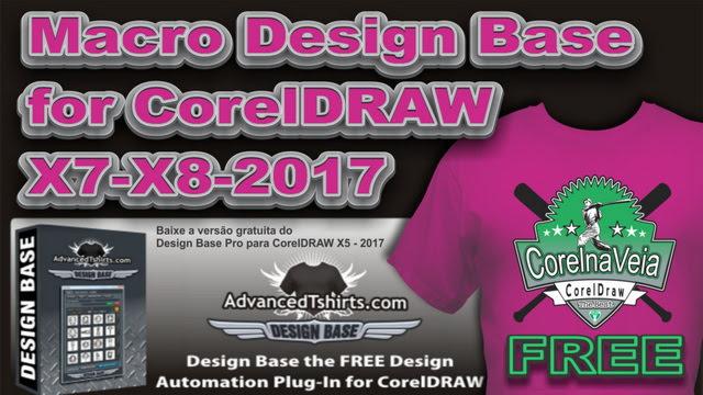 Macro Design Base for CorelDRAW X5-2017-2017 - Corel na Veia