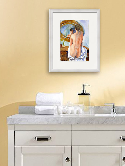 bathroom decorating ideas http://schulmanart.blogspot.com/2016/03/secrets-to-longer-life.html