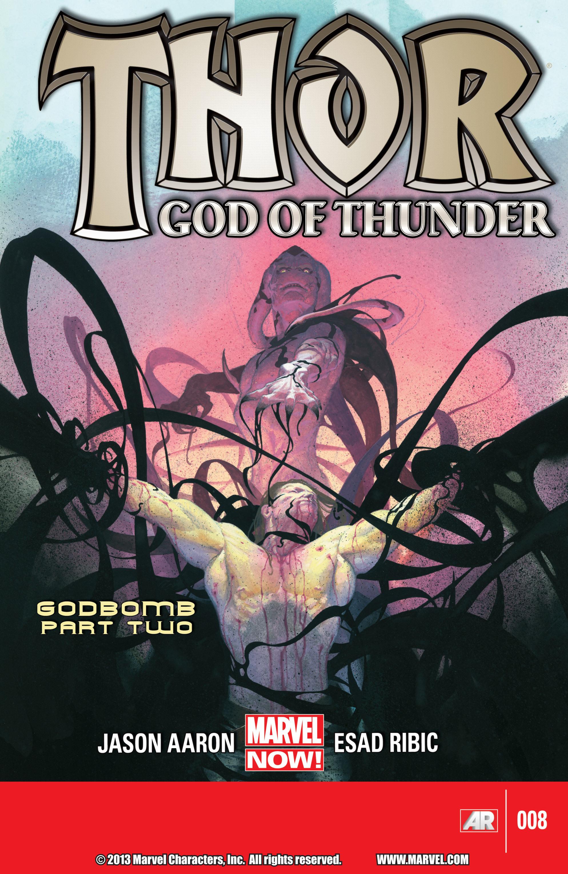 Thor: God of Thunder 8 Page 1