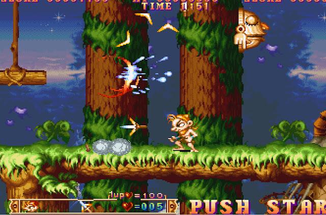 Three Wonders Banana Weapon Screenshot