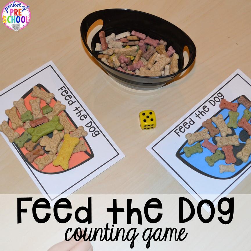 Pet Themed Activities And Centers Pocket Of Preschool