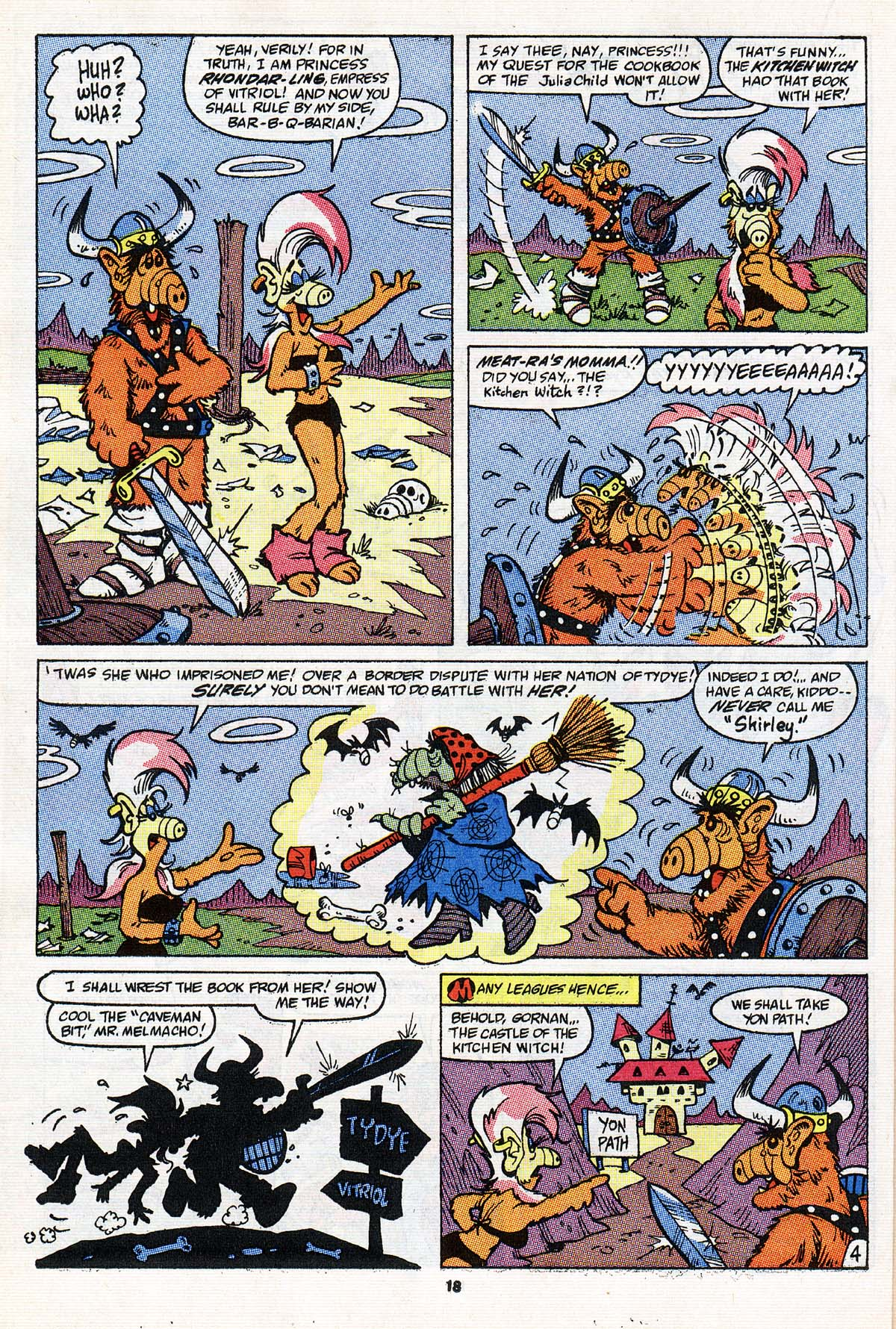 Read online ALF comic -  Issue #20 - 14