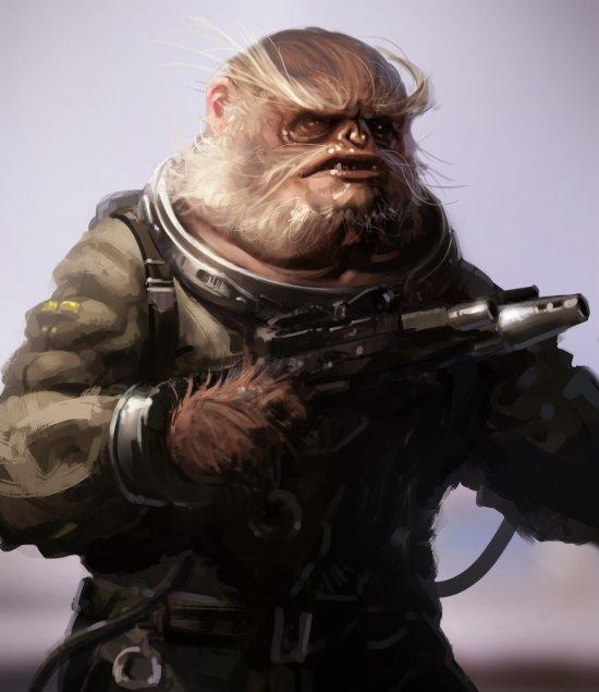 Saby Menyhei artstation deviantart arte ilustrações fantasia ficção star wars