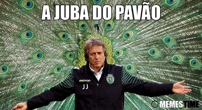Memes Time… da bola que rola e faz rir - O nosso top de Memes da Bola com Jorge Jesus – Memes da Bola: Top Jorge Jesus