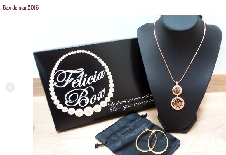bijoux Félicia box