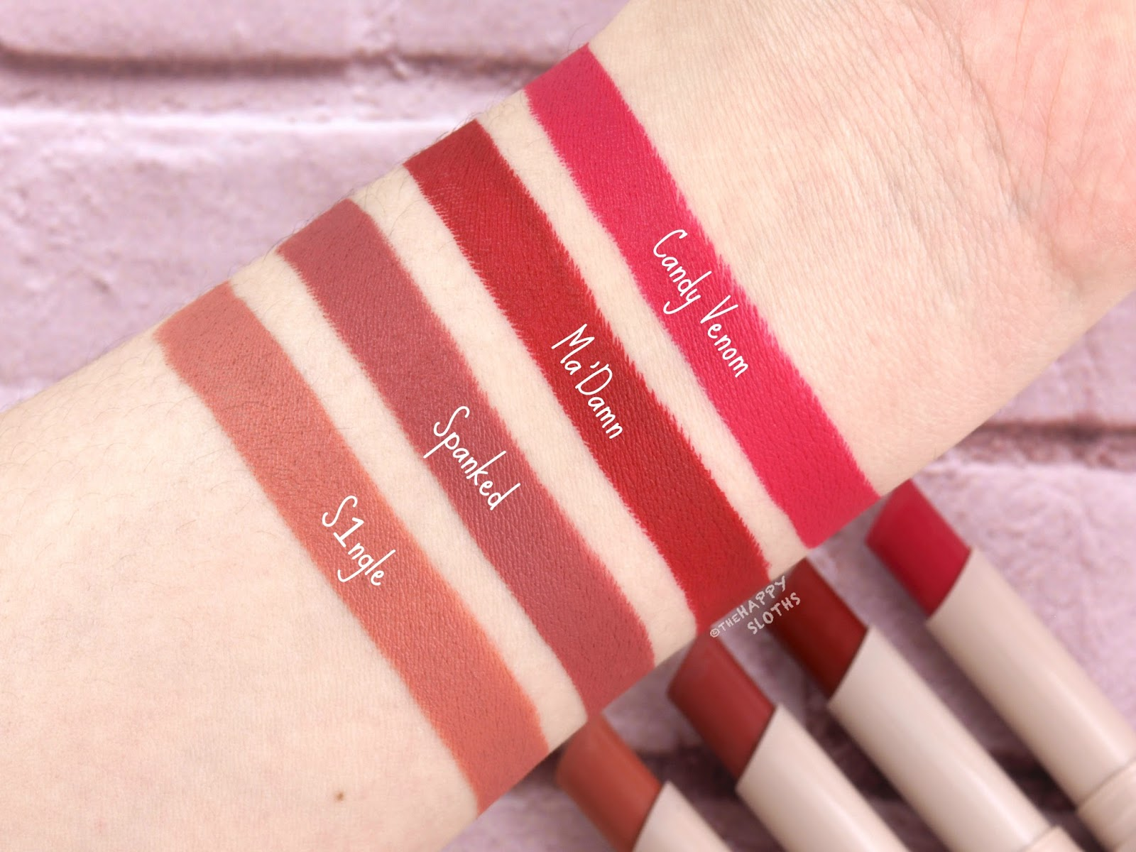 Fenty Beauty by Rihanna | Mattemoiselle Plush Matte Lipstick: Review and Swatches