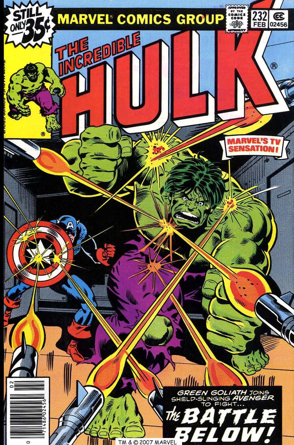 Captain America (1968) Issue #230b #145 - English 1