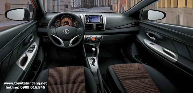toyota yaris 2015 e g toyota tan cang 5 -  - Mua xe hơi lần đầu chọn Toyota Vios hay Yaris 2015 ?